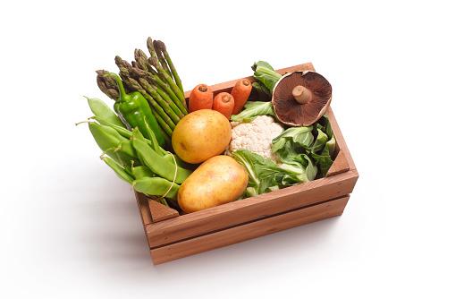 Online Shopping「Home delivery veg box」:スマホ壁紙(14)