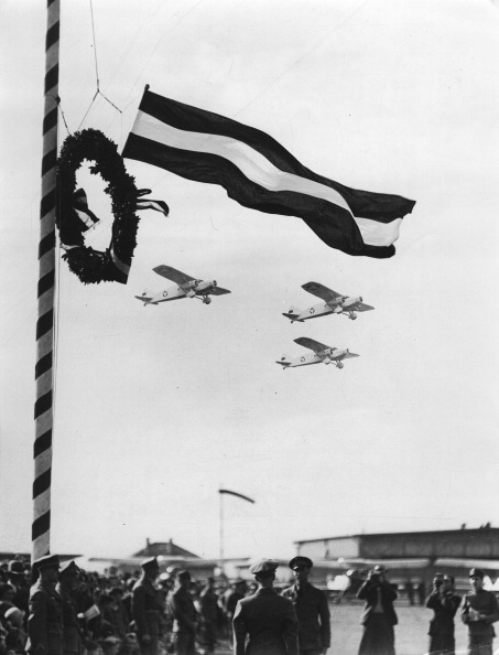 US State Flag「First Major Military Air Show At The Vienna-Aspern Airport. 19Th September 1937. Photograph.」:写真・画像(14)[壁紙.com]