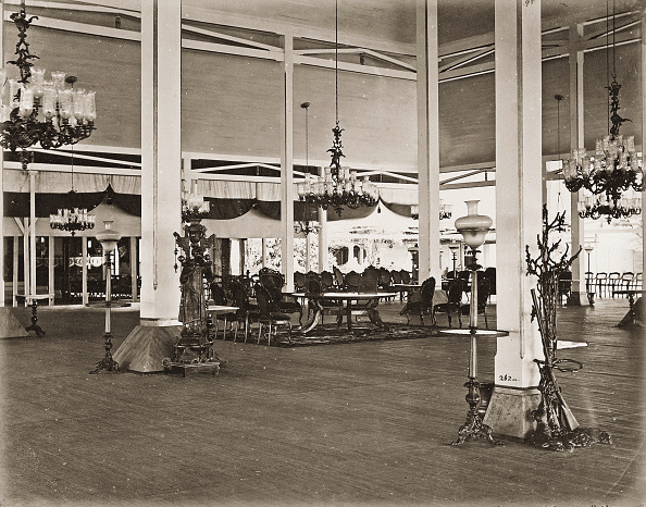 Model House「Ceremony Hall In The Palace Of Sultan Sussakunun. Java. Photograph. About 1885.」:写真・画像(3)[壁紙.com]