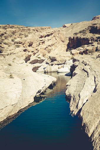 Riverbed「oasis wadi bani khalid, ash sharqiyah region, oman」:スマホ壁紙(7)