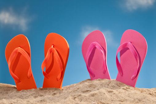 Flip-Flop「Flip Flops At The Beach」:スマホ壁紙(6)
