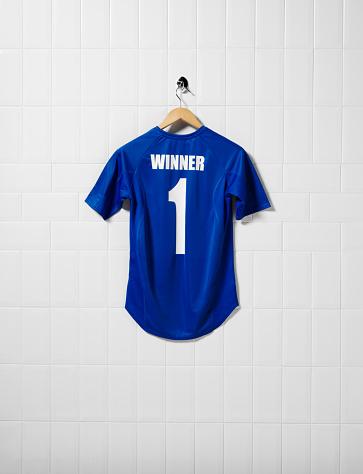 Soccer Uniform「Royal Blue Football Shirt」:スマホ壁紙(15)