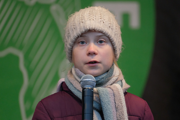 Climate Activist「Greta Thunberg Attends Climate Protest In Hamburg」:写真・画像(13)[壁紙.com]