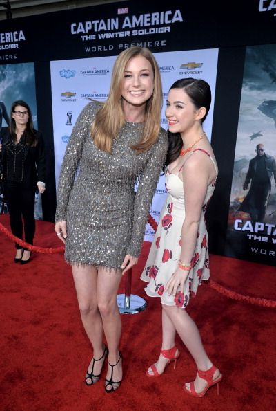 "Emily VanCamp「Marvel's ""Captain America: The Winter Soldier"" Premiere - Red Carpet」:写真・画像(15)[壁紙.com]"