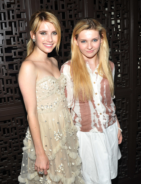 Abigail Breslin「The Cinema Society With Alice+Olivia Host A Screening Of 'The Art Of Getting By' - After Party」:写真・画像(10)[壁紙.com]