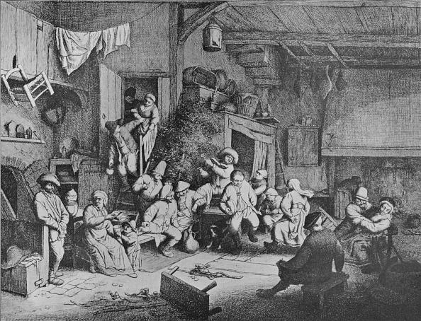17th Century「Dance in a Tavern 1652」:写真・画像(13)[壁紙.com]
