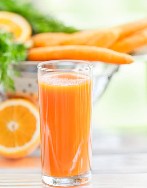 Carrot  and orange juice:スマホ壁紙(壁紙.com)