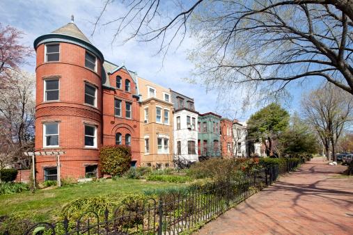 Row House「row houses on Capitol Hill washington DC」:スマホ壁紙(16)