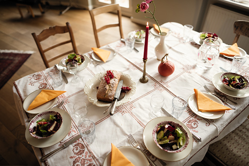 Place Setting「ready for a dinner with the family」:スマホ壁紙(5)