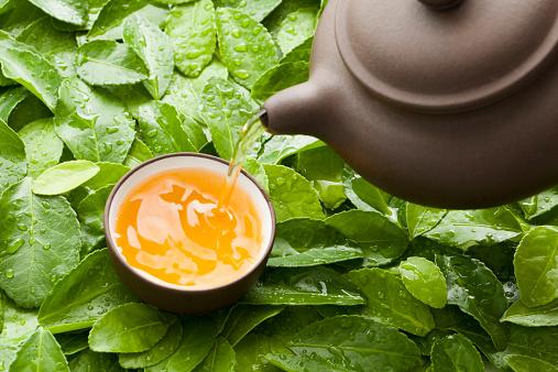 Pouring「Pouring tea」:スマホ壁紙(15)