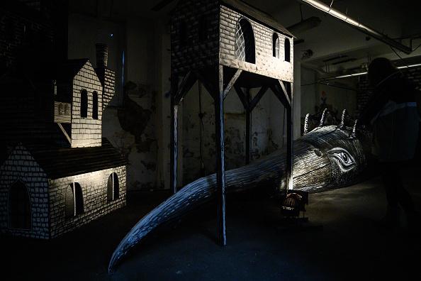 動物「International Street Artist Phlegm Creates Exhibition In Abandoned Sheffield Factory」:写真・画像(2)[壁紙.com]