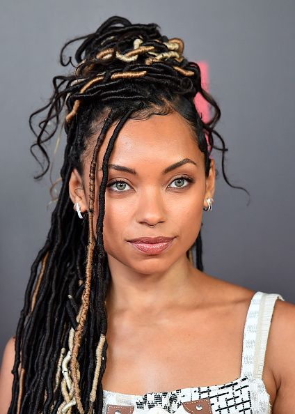 Logan Browning「Comediennes: In Conversation at Netflix FYSEE - Arrivals」:写真・画像(15)[壁紙.com]