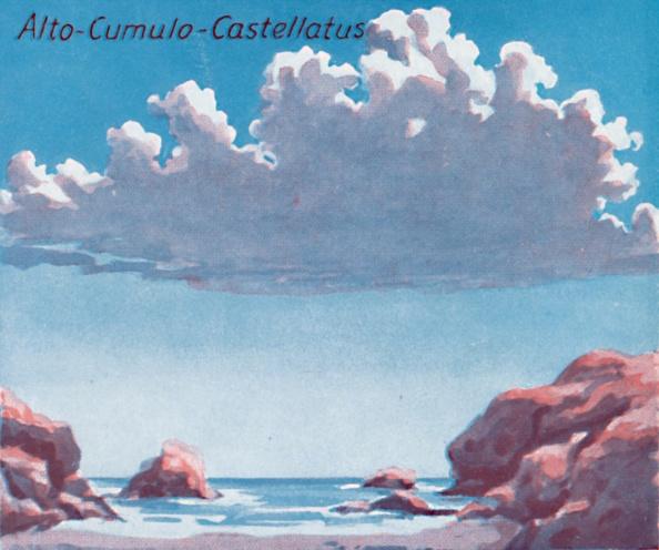 Horizon「Alto-Cumulo-Castellatus - A Dozen Of The Principal Cloud Forms In The Sky」:写真・画像(11)[壁紙.com]