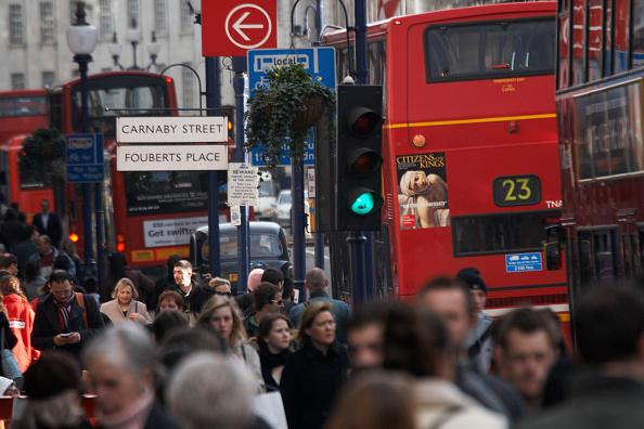 Crowd「Busy Regent Street, London, UK」:写真・画像(14)[壁紙.com]