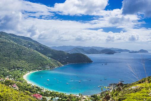 British Virgin Islands「View of Cane Garden Bay」:スマホ壁紙(13)