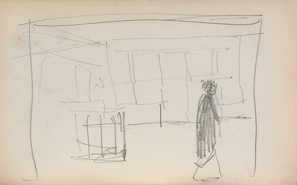 Pencil「Italian Sketchbook: Figure In An Interior (Page 175)」:写真・画像(15)[壁紙.com]