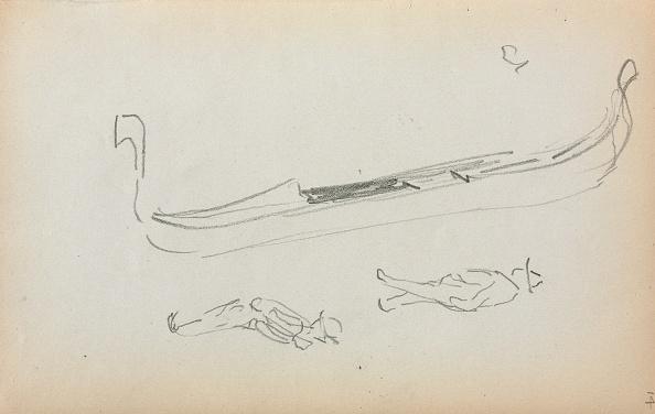Pencil「Italian Sketchbook: Gondola And Two Gondoliers (Page 14)」:写真・画像(16)[壁紙.com]