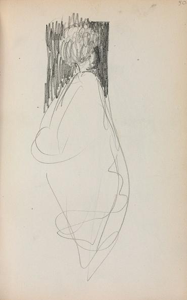 Pencil「Italian Sketchbook: Standing Woman (Page 50)」:写真・画像(16)[壁紙.com]
