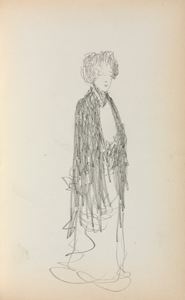 Pencil「Italian Sketchbook: Standing Woman (Page 213)」:写真・画像(15)[壁紙.com]