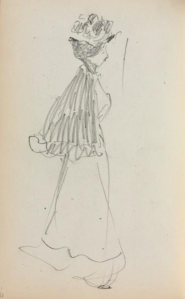 Pencil「Italian Sketchbook: Standing Woman In Profile (Page 130)」:写真・画像(17)[壁紙.com]