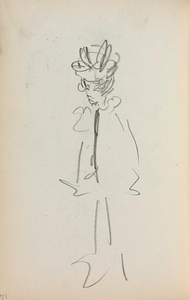 Pencil「Italian Sketchbook: Standing Woman 3/4 View (Page 126)」:写真・画像(14)[壁紙.com]