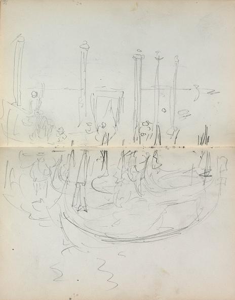 Pencil「Italian Sketchbook: Venetian Harbor View (Page 37 & 38)」:写真・画像(19)[壁紙.com]