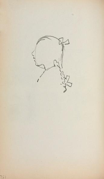 Pencil「Italian Sketchbook: Head Of A Girl In Profile (Page 152)」:写真・画像(17)[壁紙.com]