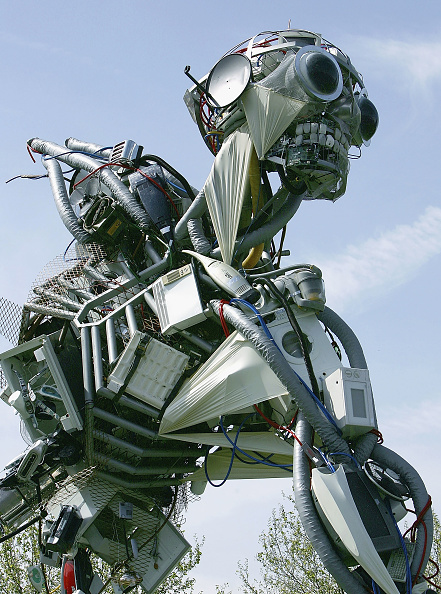Sculpture「Giant Recycled Waste Sculpture Unveiled In London」:写真・画像(1)[壁紙.com]