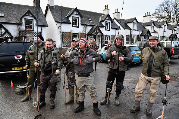 季節「Salmon Fishing Season Opens At Kenmore On The River Tay」:写真・画像(5)[壁紙.com]
