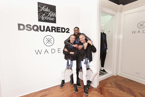 バスケットボール「Saks Fifth Avenue Celebrates The Exclusive Launch Of The Dsquared2 x Dwyane Wade Capsule Collection」:写真・画像(18)[壁紙.com]