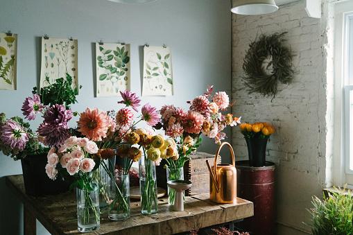 Floral「Flower shop」:スマホ壁紙(14)