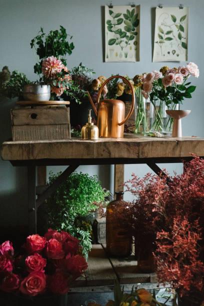 Flower shop:スマホ壁紙(壁紙.com)