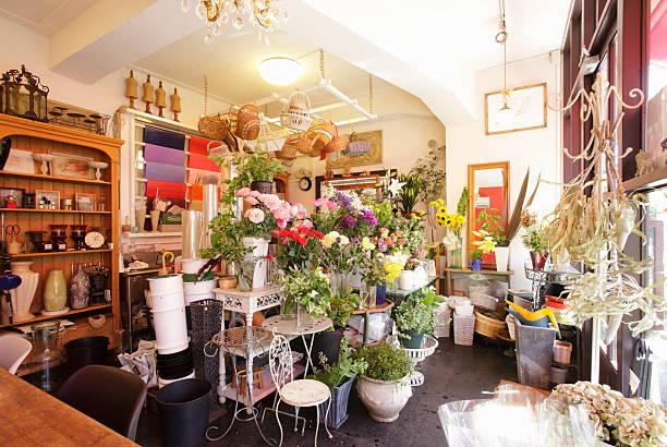 A flower shop:スマホ壁紙(壁紙.com)