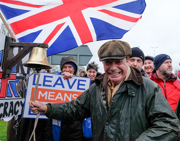 Brexit「Nigel Farage Launches The Pro-Brexit March To Leave From Sunderland」:写真・画像(14)[壁紙.com]