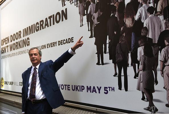 Smith Square「Nigel Farage Unveils UKIP's Final Mayoral Campaign Poster」:写真・画像(18)[壁紙.com]