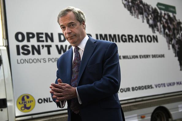Smith Square「Nigel Farage Unveils UKIP's Final Mayoral Campaign Poster」:写真・画像(19)[壁紙.com]