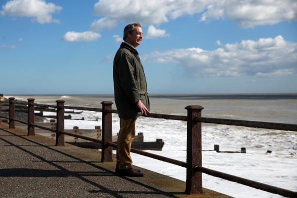 Outdoors「Nigel Farage Campaigning In Dover」:写真・画像(17)[壁紙.com]