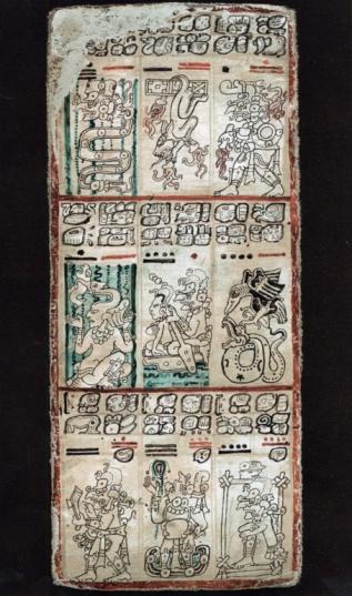 Manuscript「Ancient tablet from Mayan manuscript」:スマホ壁紙(9)