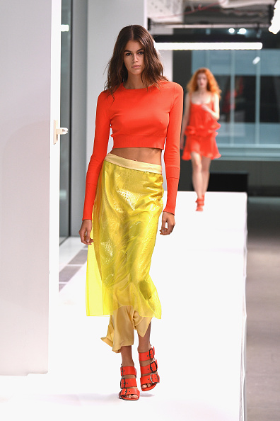 Orange Color「Sies Marjan - Runway - September 2018 - New York Fashion Week」:写真・画像(4)[壁紙.com]