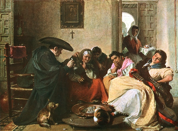 John Phillips「A Chat Round The Brasero」:写真・画像(8)[壁紙.com]