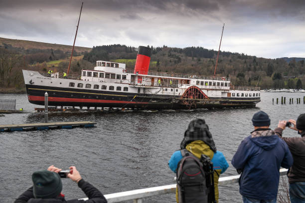 Loch Lomond's Iconic Steamer Leaves The Water For Forty Year Check-up:ニュース(壁紙.com)
