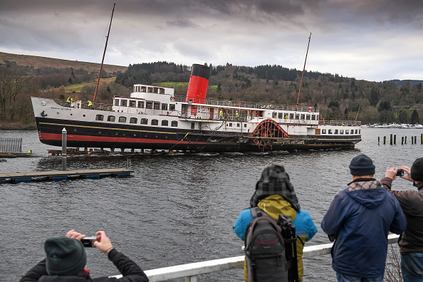 Finance and Economy「Loch Lomond's Iconic Steamer Leaves The Water For Forty Year Check-up」:写真・画像(14)[壁紙.com]