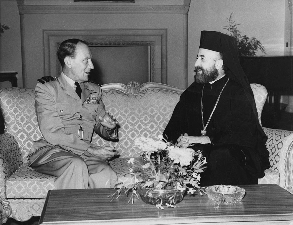 Republic Of Cyprus「Denis Barnett With Makarios」:写真・画像(13)[壁紙.com]