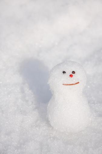 雪だるま「Small Snowman」:スマホ壁紙(18)