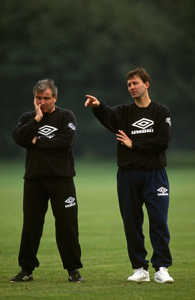 Clive Brunskill「Terry Venables and Bryan Robson England Training 1994」:写真・画像(10)[壁紙.com]