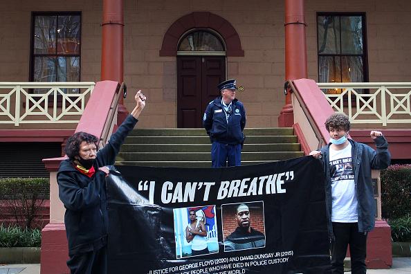 Lisa Maree Williams「Black Lives Matter Activists Attend Unauthorised Rally In Sydney」:写真・画像(6)[壁紙.com]