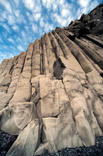 Dyrholaey「Columnar basalt along Iceland's South Coast」:スマホ壁紙(0)