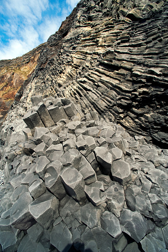 Dyrholaey「Columnar basalt along Iceland's South Coast」:スマホ壁紙(1)