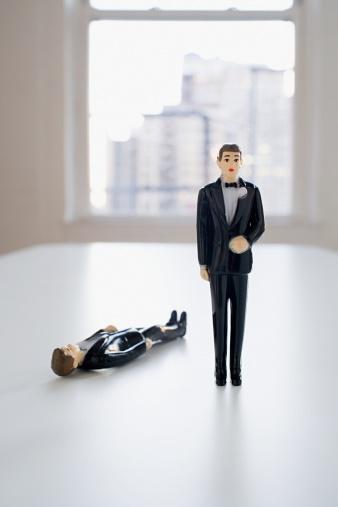 Formalwear「Two groom wedding cake figurines」:スマホ壁紙(15)