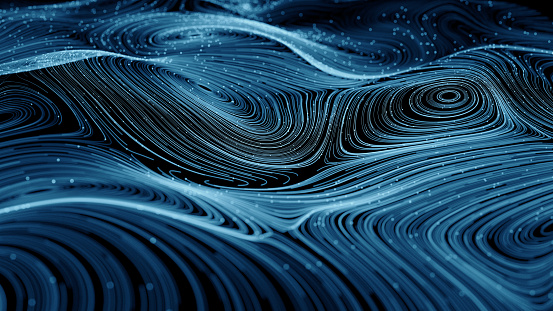 Curve「Abstract  network  background」:スマホ壁紙(11)
